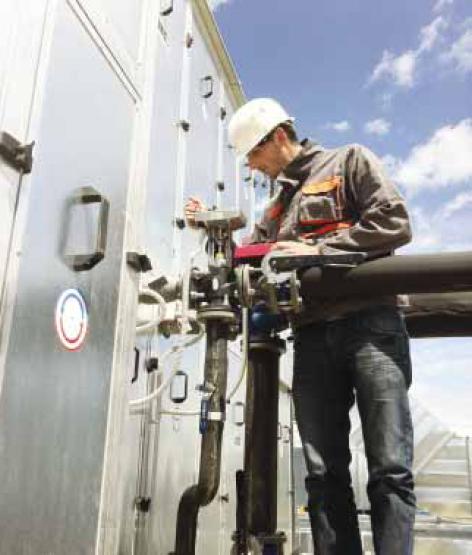 BMS система в разширението на завода на Schneider Electric