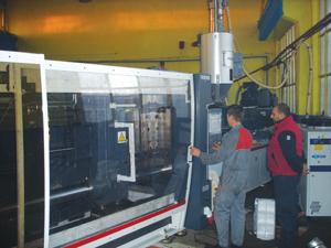 Акумпласт разполага с пълно технологично оборудване за рециклиране на пластмаси