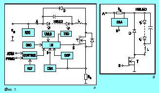 Нови интегрални драйвери за мощни LED в осветителни приложения