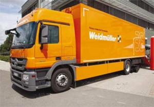 Вайд-Бул организира демонстрационна обиколка с инфомобила на Вайдмюлер