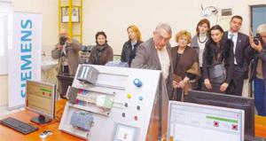 ТУ-София откри лаборатория, обновена с оборудване, дарено от Siemens България