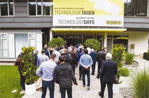 Paul Horn проведе традиционните си Технологични дни в Тюбинген