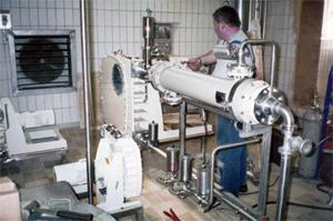Помпеното оборудване хигиенно изпълнение на Вердер гарантира безопасно изпомпване на суровини и готова продукция