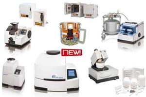 Продуктите на Retsch намират широко приложение в лаборатории за научни и приложни изследвания