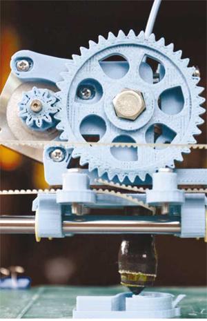 3D принтиране в индустрията