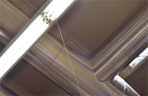 Осветление за промишлени помещения с високи тавани