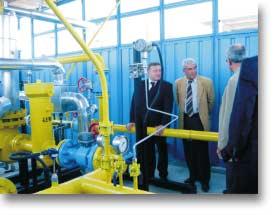 Открита бе газовата инфраструктура за Тракия глас България