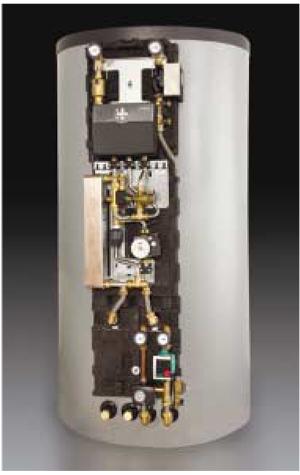 """Енергоспестяваща централа на Oventrop """"Regucor WHS"""" за отопление и подгряване на питейна вода  - за по-добра енергийна ефективност"""