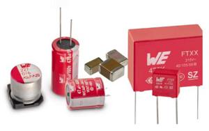 Wuerth Elektronik eiSos стартира разширена програма за кондензатори