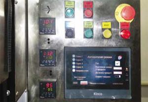 Управление на хоризонтална опаковъчна машина в завода на Еко Мес