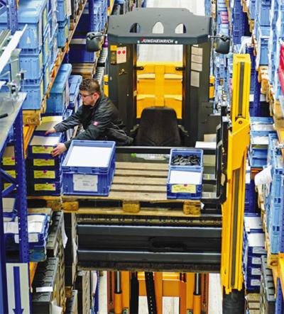 JUNGHEINRICH предлага специализирани машини от класа APM