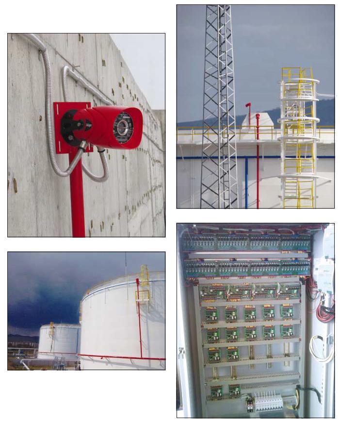 Пожарогасителна инсталация в Петролна база Сливен